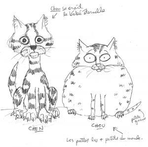 CHOU & CHEN- Croquis