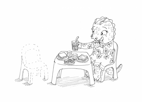 Yona Drawing 2