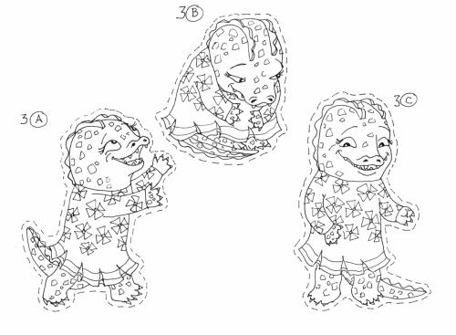 Yona Drawing 3 A,B,C