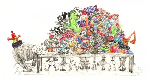 Pile de jouets - NICE MATIN - RVB- ENVOIE