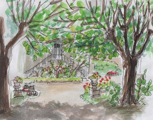 La Gravelle sketched