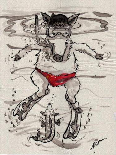 Summer Boy Boar