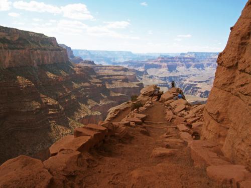 Tout petit au GRAND Canyon